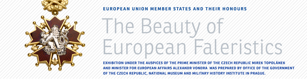 Exhibition under the auspices of the Prime Minister of the Czech Republic Mirek Topolánek and Minister for European Affairs Alexandr Vondra  was prepared by Office of the Government of the Czech Republic, National Museum and Military History Institute in Prague